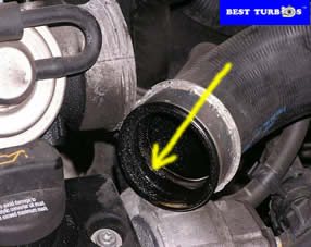 check turbo hoses pipes