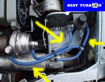 turbocharger vacuum pipes
