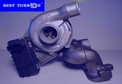 Turbocharger Ford Mondeo III 2.0 TDCi 130HP Turbo Jaguar X Type 2.0 D 130 HP