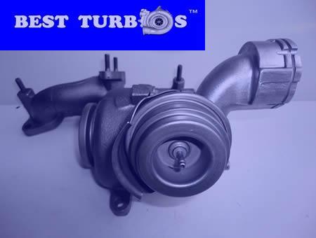 turbo VW Golf 2.0 TDI, VW Passat 2.0 TDI, VW Touran 2.0 TDI, Skoda Octavia II 2.0 TDI, VW Golf V 2.0 TDI, Audi A3 2.0 TDI, Seat Leon 2.0 TDI