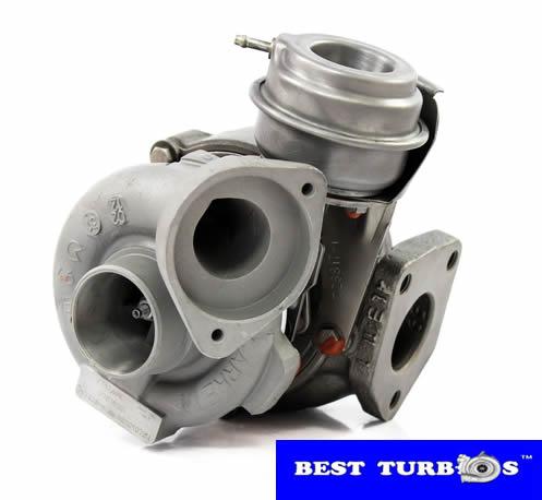 Turbo, Turbocharger, BMW 320D E46