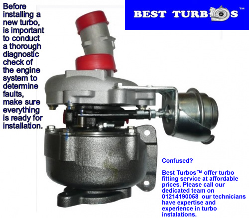common turbocharger failures pictures