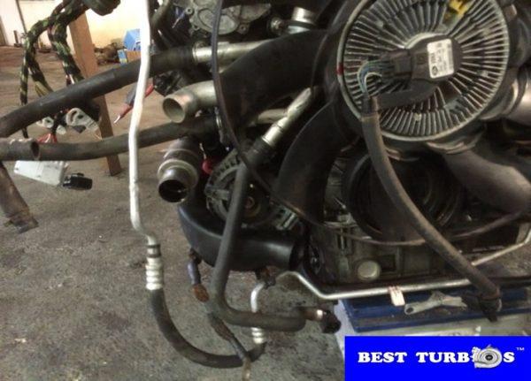 Land Rover Range Rover 3.6 Diesel Engine Dismantling Step