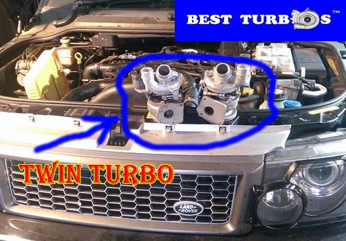 TurboCharger Turbo Range Rover 3.6 TDV8 Sport 3.6 TDV8 272 HP