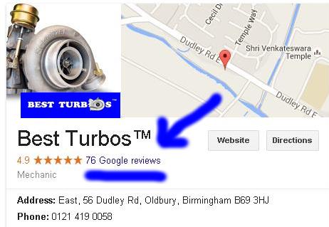 best turbos google map reviews