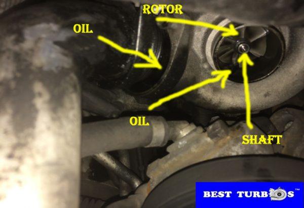 bmw 3 series 2.0 diesel turbocharger faulty