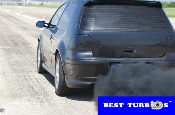 turbo problems black smoke