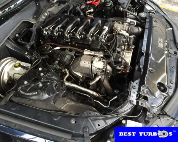 BMW 5 Series 3.0 Diesel turbo reconditioning and fitting