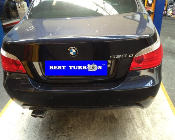 BMW 535d twin turbo fitting