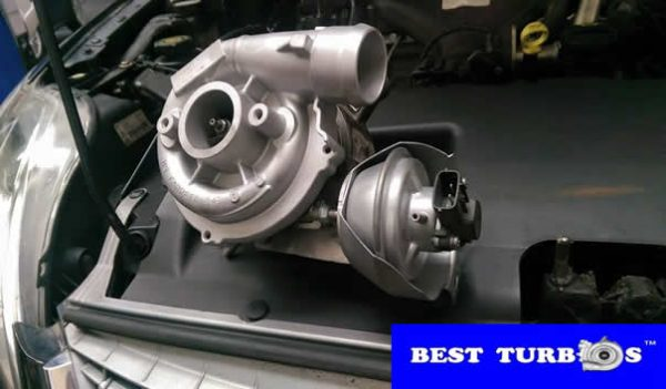 Ford Mondeo 2.0 TDCI turbo reconditioning and fitting