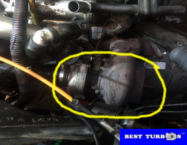 Land Rover Range Rover Sport 2.7 TDV6 HSE turbo problems, lack of power, black, blue smoke, oil leak, whistling noise, turbo recon fitting