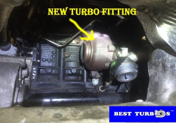 audi a3 2.0tdi new turbo fitting