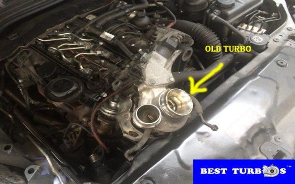 bmw 520d turbo dissembly fitting service birmingham