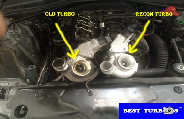 bmw 520d turbo fitting service