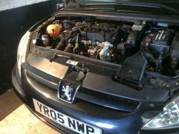 Peugeot 307 1.6 HDI turbocharger fitting