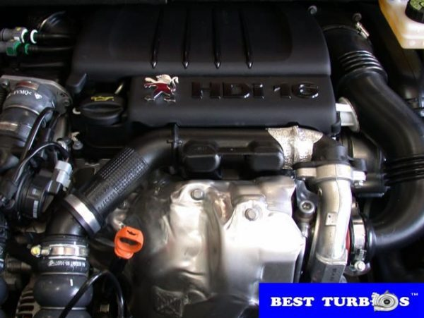 Peugeot 307 1.6 HDI turbocharger repairs