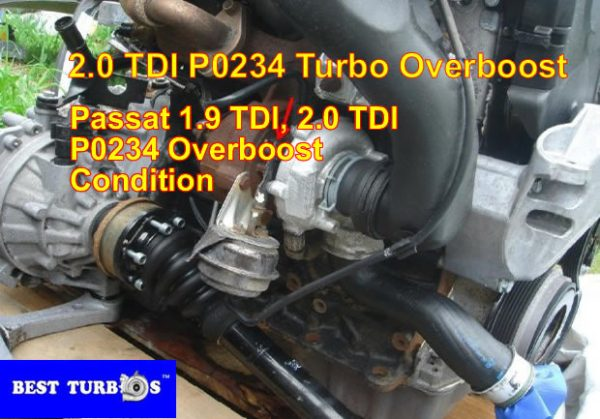 Passat 1 9 TDI 2 0 TDI Turbo Problem?P0234?Overboost Limp Mode Smoke