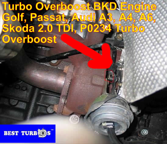 Passat 1 9 TDI 2 0 TDI Turbo Problem?P0234?Overboost Limp Mode Smoke