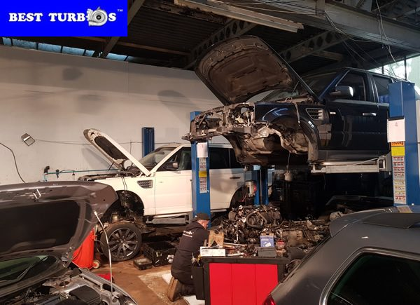Range Rover Discovery 3, 4 Sport chassis removal, chassis lift up, body removal – Best Turbos™