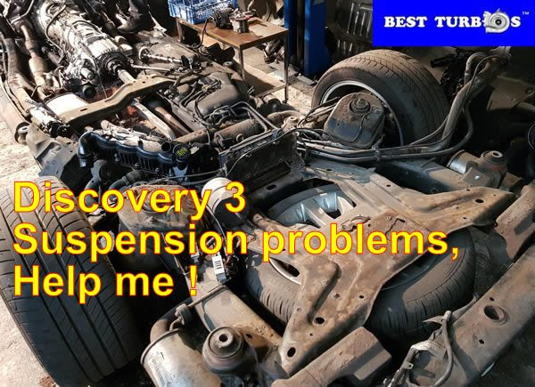 Discovery 3 air suspension fault codes
